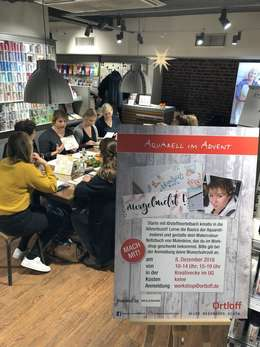 Aquarell-Workshop im Advent