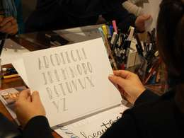 Grundkurs-Workshop Handlettering