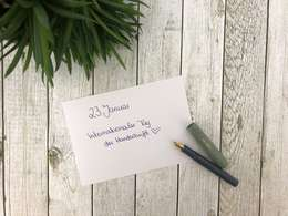 Internationaler Tag der Handschrift 2019