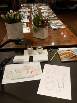 Workshop Watercolor & Brush Lettering