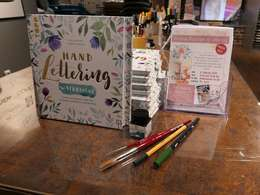 Watercolour & Lettering Workshop