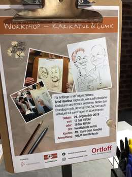 Workshop Karikatur und Comic