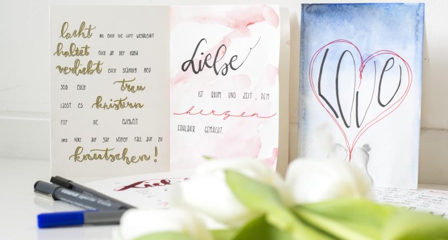 Hochzeitskarten Schone Spruche Und Tolle Gestaltung News